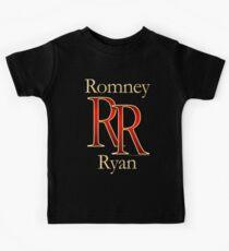 RR Romney Ryan Luxury Look T-Shirt Kids Tee