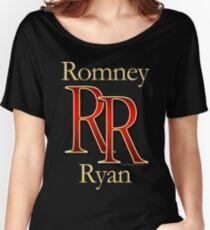 RR Romney Ryan Luxury Look T-Shirt Women's Relaxed Fit T-Shirt