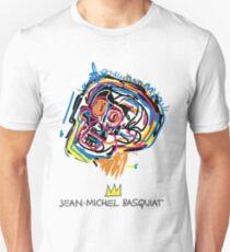 Jean Michel Basquiat Head Unisex T-Shirt