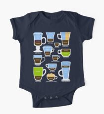 Espresso-Based Drinks Guide One Piece - Short Sleeve
