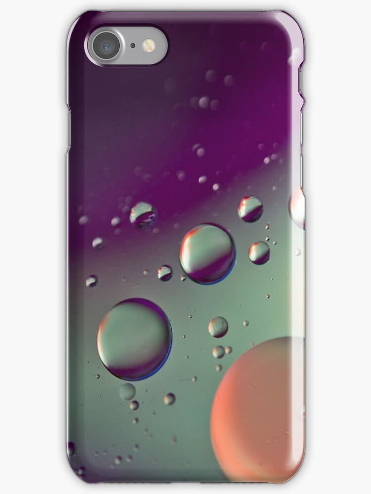 Purple Bubble Mix - Also iPhone Case by HanieBCreations