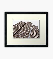 Office building. Framed Print