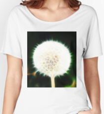 Fractal Dandelion  Women's Relaxed Fit T-Shirt