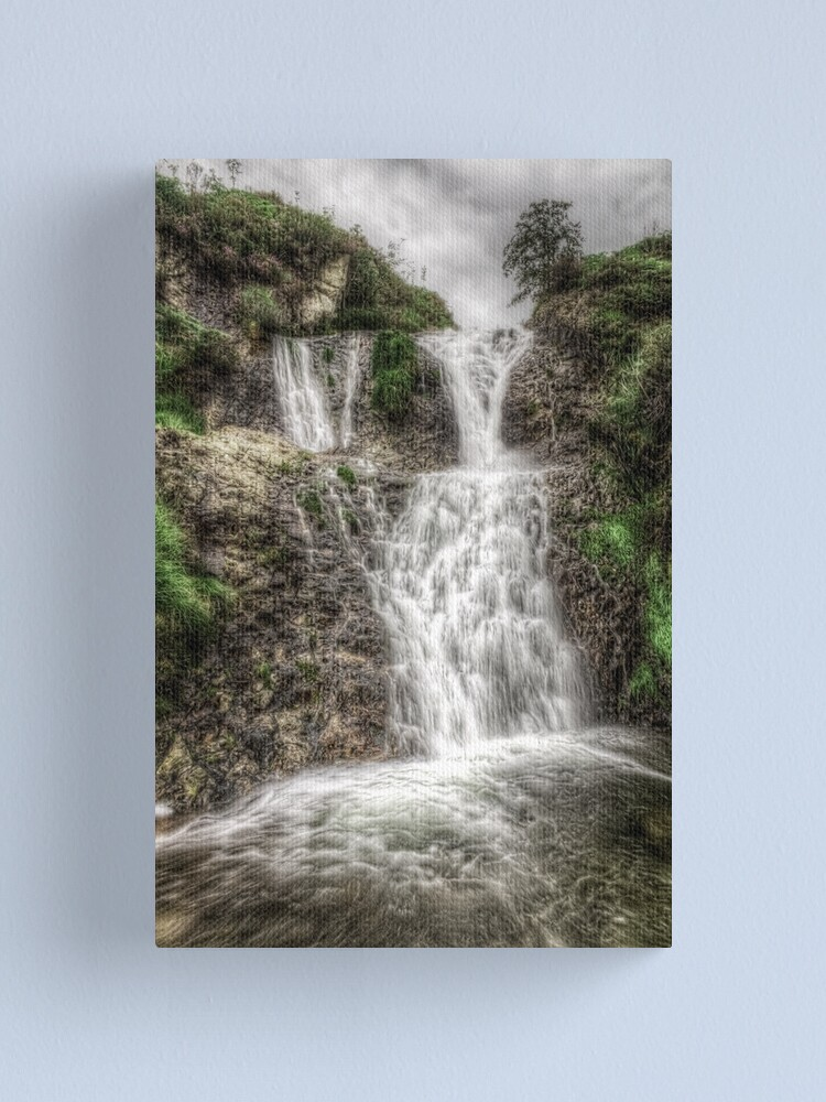 Alternate view of Down came the Rain Canvas Print