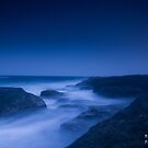 Norah Head sunset 2 by Mitchell Lamm
