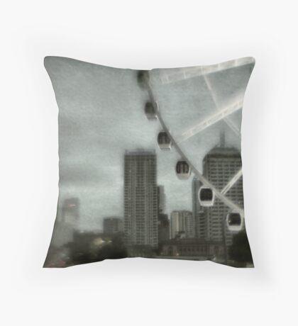 Big wheel Throw Pillow