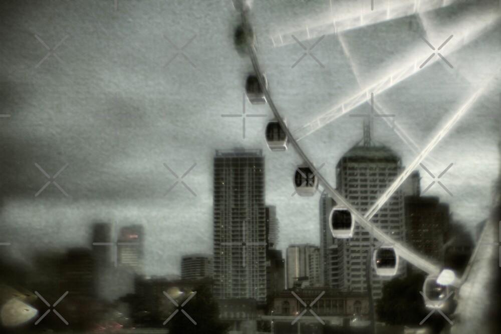 Big wheel by Mel Brackstone