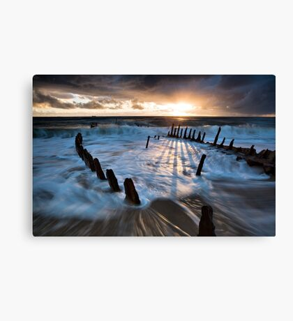 Shipwrecked Canvas Print