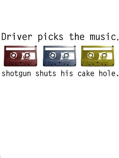 Driver Picks the Music by jadetiger712
