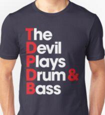 The Devil Plays Drum & Bass Unisex T-Shirt