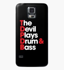 The Devil Plays Drum & Bass Case/Skin for Samsung Galaxy