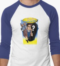 Ood, Where's My TARDIS? Men's Baseball ¾ T-Shirt