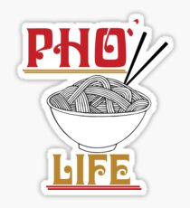 Pho Life Sticker