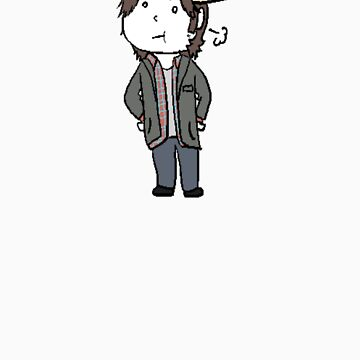 Sam Winchester Moose by lordofcats