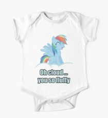 Rainbow Dash Oh Cloud You so Fluffy Shirt (My Little Pony: Friendship is Magic) One Piece - Short Sleeve
