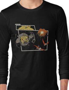 Tie Rex and the Rebeldactyls Long Sleeve T-Shirt