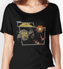Tie Rex and the Rebeldactyls Women's Relaxed Fit T-Shirt