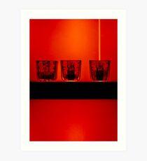 Neutrino Trap - direct hit Art Print