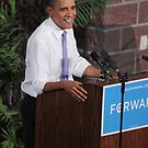 Obama Smiles by SB  Sullivan