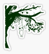 Kodoma Tree Spirit Sticker
