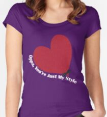 Gangnam Style (Oppa, You're Just My Style) Women's Fitted Scoop T-Shirt