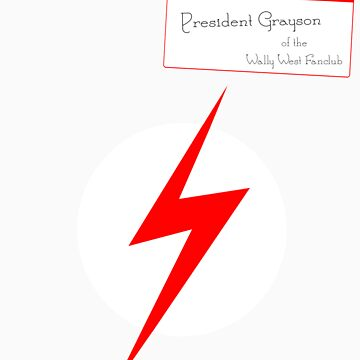 President Grayson of the Wally West Fanclub by IMTShop
