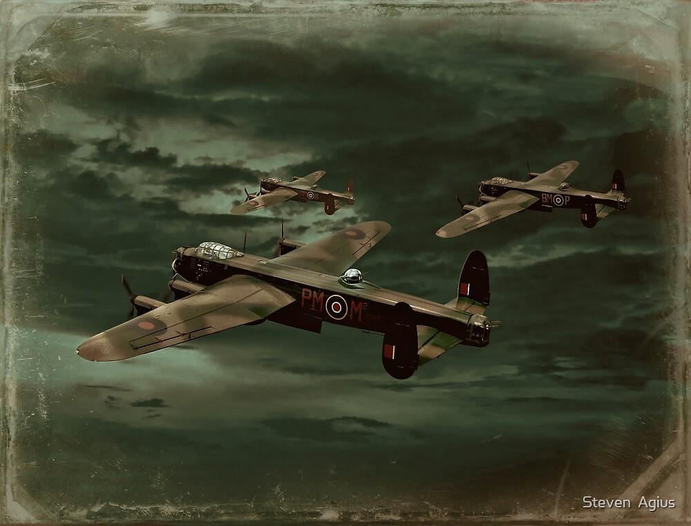 Lancaster Mission by Steven  Agius