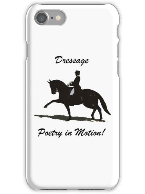 Dressage - Poetry in Motion iPhone, iPod & iPad Cases by Patricia Barmatz