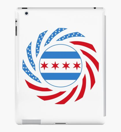 Chicago Murican Patriot Flag Series iPad Case/Skin