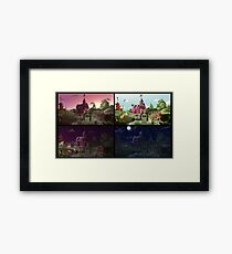 A Day on Sweet Apple Acres Framed Print