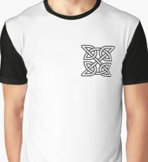 Celtic Knot Tribal Tattoo Graphic T-Shirt