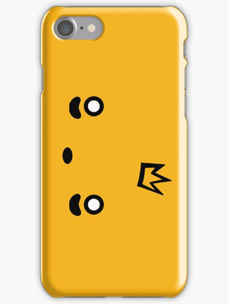 Piro Piro plain iphone case by Squishiee