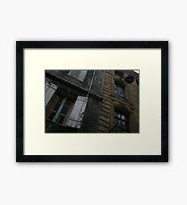 Bordeaux facade Framed Print