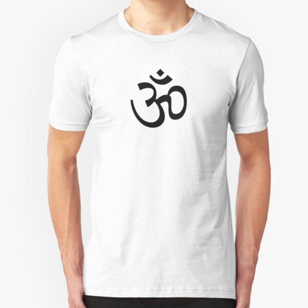 Ohm - Black Slim Fit T-Shirt