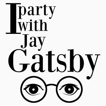 I party with Jay Gatsby by arwenundomiel93