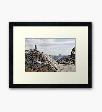 Tioga Pass Framed Print