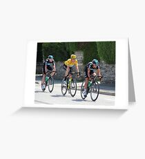 Sky Train - Tour de France 2012 Greeting Card
