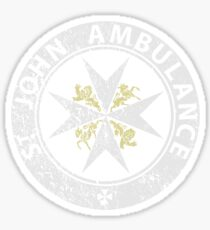 St. John Ambulance, distressed Sticker
