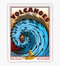 VOLCANOES EPIC SURF BREAK Sticker