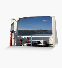 From the Foyle Ferry, Ireland Greeting Card