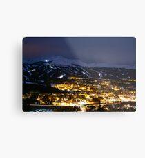Night in Breck - Breckenridge, CO Metal Print