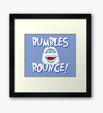 Bumbles Bounce! Framed Print