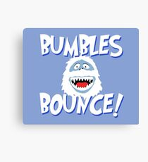 Bumbles Bounce! Canvas Print