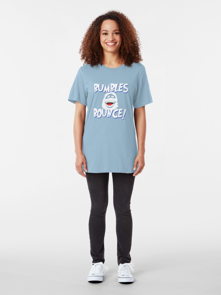 Alternate view of Bumbles Bounce! Slim Fit T-Shirt