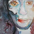 Hollowed Original Watercolor Painting by ChrisCiolli