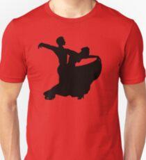 Ballroom Dancing Couple Unisex T-Shirt