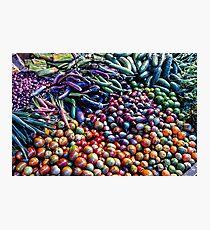 Vegetable medley Photographic Print