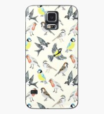Illustrated Birds Case/Skin for Samsung Galaxy
