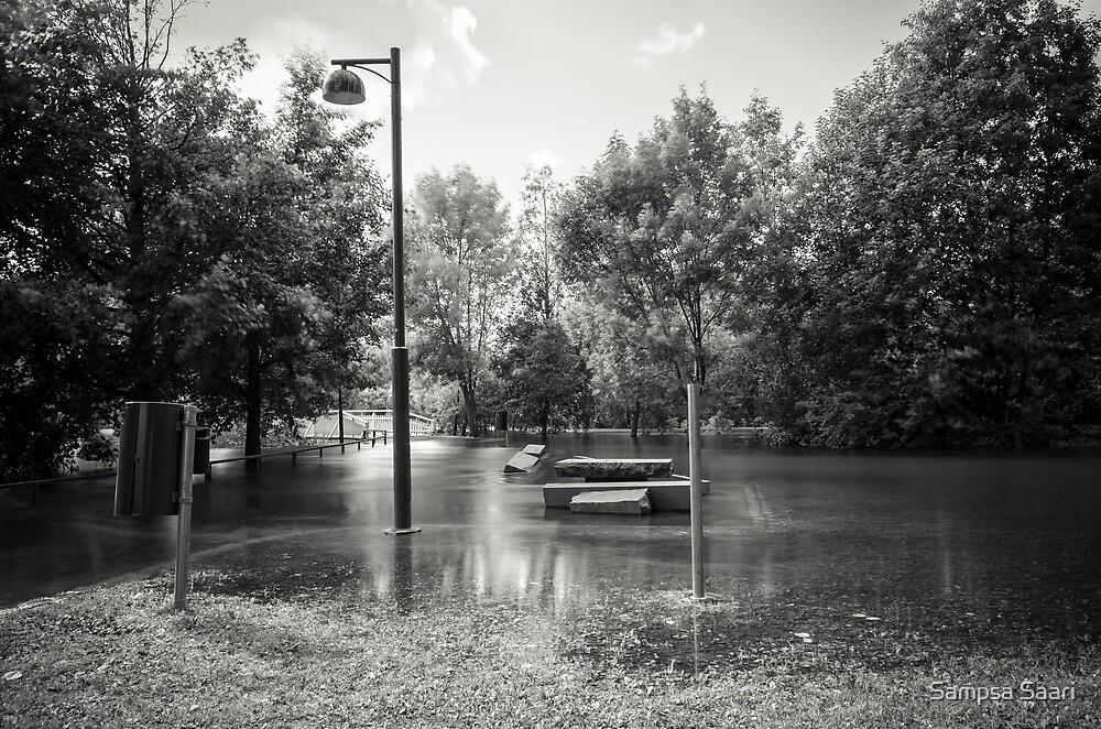 Floating Park by Sampsa Saari