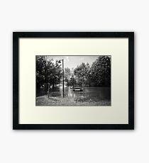 Floating Park Framed Print